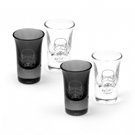 Original Stormtrooper  Shot Glass Set